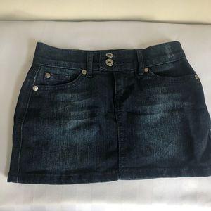 girls denim skirt size 7